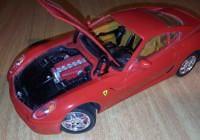 Als Modellauto der Ferrari 599 GTB Fiorano